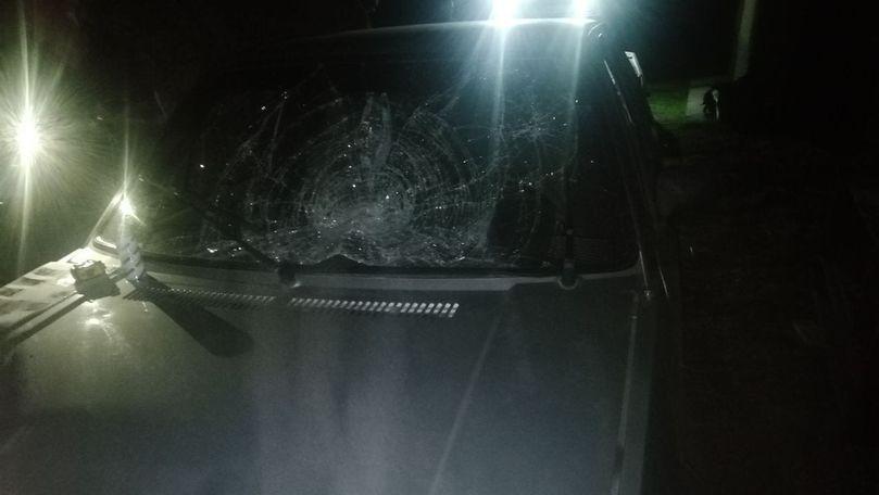 Un polițist beat a lovit mortal cu mașina o femeie la Dondușeni