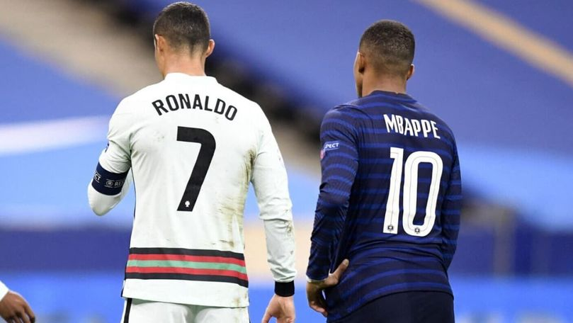 Mbappe, Ronaldo și Kane valorează mai mult ca 6 naționale ale României