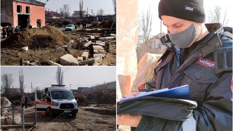 Un bărbat, zdrobit de o placă de beton pe un șantier din Tiraspol