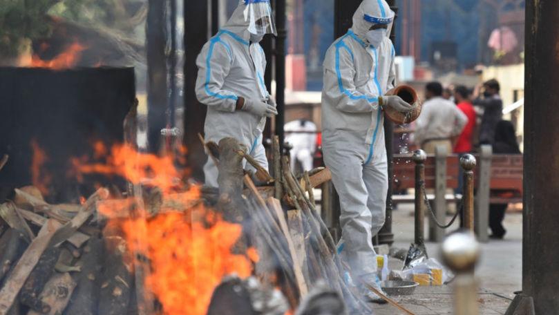 Mărturiile angajaților din crematoriile din India: Sunt mai mulți morți