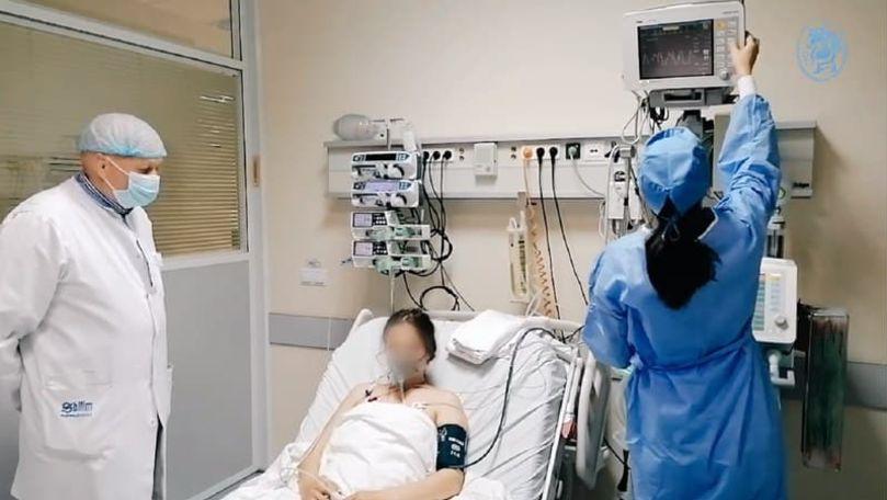 Chișinău: O gravidă cu pneumonie a ajuns la spital în stare critică