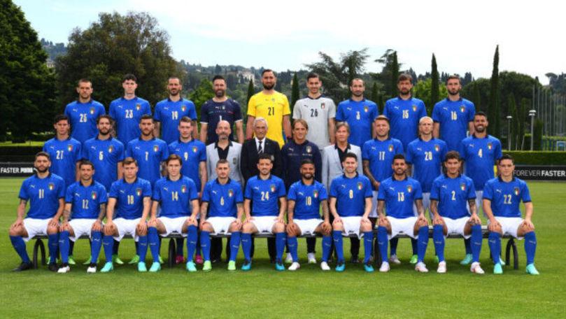 Lotul Italiei pentru EURO 2020: Absență importantă în echipa lui Roberto Mancini