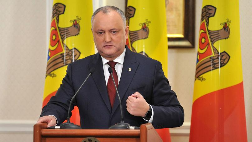 Igor Dodon speră la 40 de mandate de deputat la alegerile anticipate