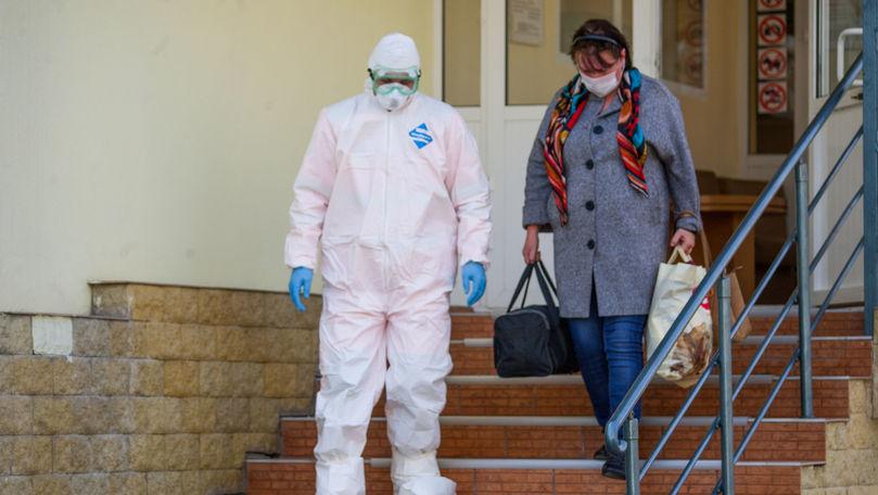 Record absolut de vindecați în Moldova: 1.453 de persoane, externate într-o zi