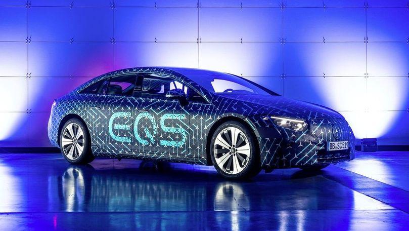 Detalii pentru Mercedes EQS: Peste 500 de CP și două opțiuni de baterie