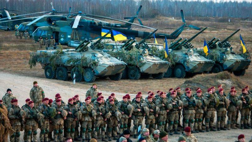Acordul de încetare a focului, încălcat în Ucraina: Un militar, mort