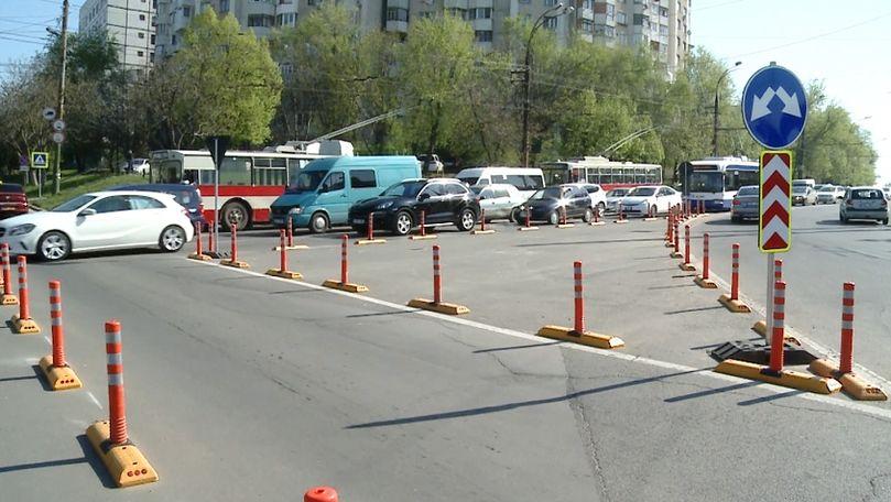 O intersecție din sectorul Botanica, în topul accidentelor rutiere
