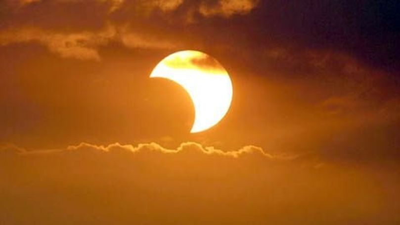 Eclipsă solară parţială: Pământenii care vor vedea un cerc de foc