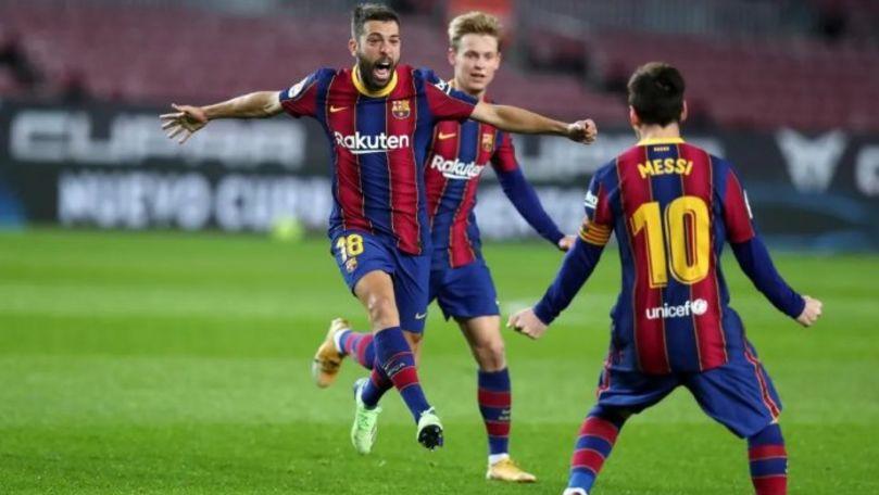 FC Barcelona s-a calificat în finala Supercupei Spaniei