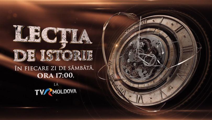 Lecţia de Istorie la TVR Moldova: Rusia țaristă, groparul Moldovei