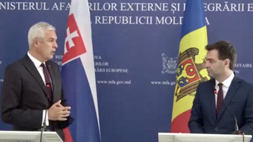 Ministru slovac: Bratislava sprijină calea reformelor democratice ale RM