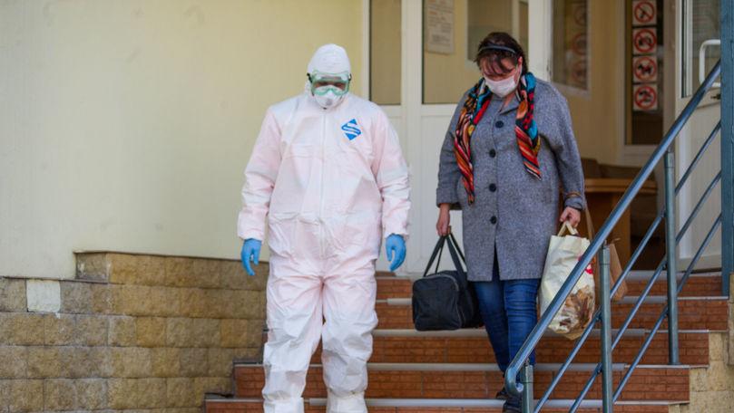 Alți peste 400 de moldoveni vindecați de COVID-19, externați într-o zi