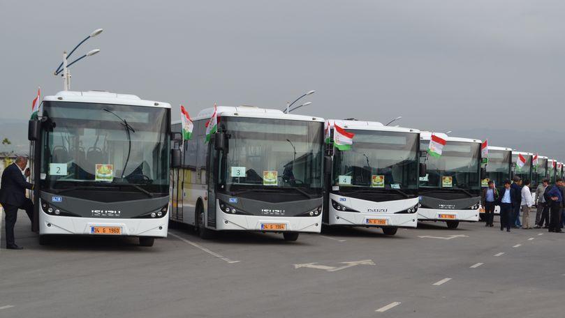 Autobuzele aduse în Chișinău, mai scumpe decât cele din Tadjikistan