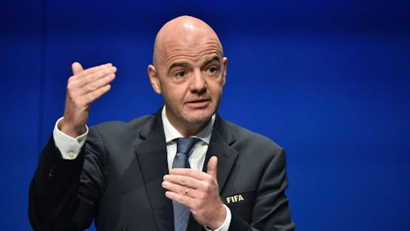 Șeful FIFA și-a pus iar lumea-n cap: Cupa Mondială în zonă de război?
