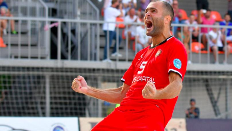 Naționala Moldovei s-a calificat în finala Campionatului European de fotbal pe plajă