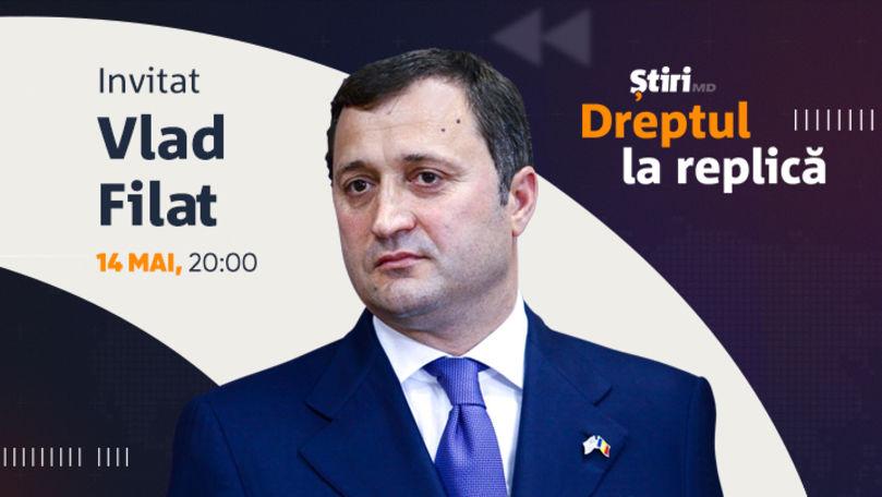 Vlad Filat, invitatul emisiunii Dreptul la Replică de la Știri.md