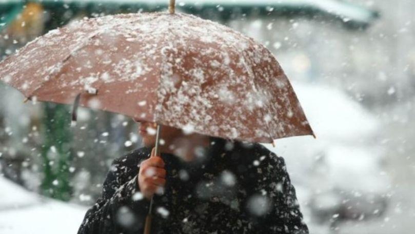 Ninsori în toată țara: Cum va fi vremea în acest weekend