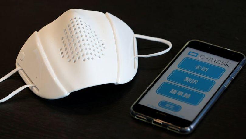 Masca smart care traduce în 8 limbi și te ajută în lupta cu pandemia