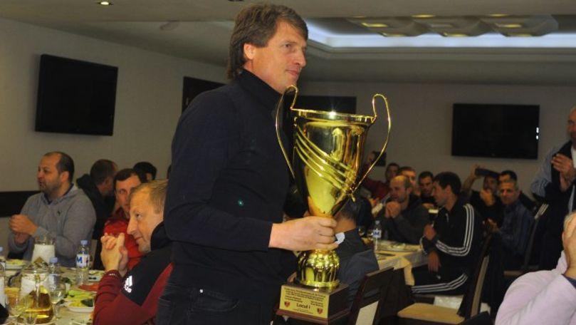 Echipa de veterani a Chişinăului a câştigat turneul internaţional Cupa FMF la fotbal