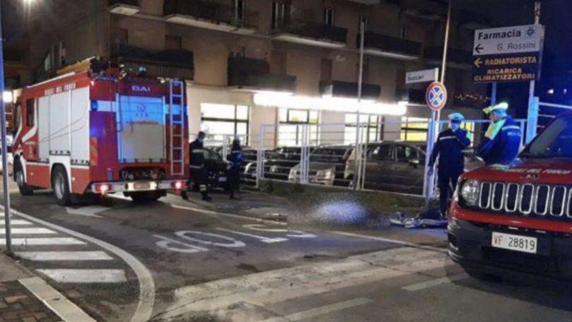 O moldoveancă, lovită mortal de o mașină de pompieri în Italia