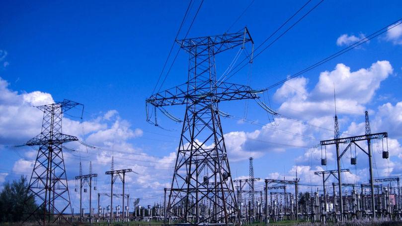 Ucraina a sporit livrările de energie electrică către Moldova cu 17,2%