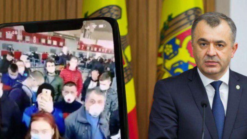 Chicu își cere scuze de la moldovenii blocați pe aeroportul din Paris