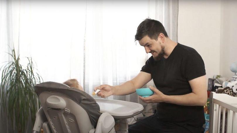 Ce înseamnă să fii un tată bun pentru actorul Dan Melnic