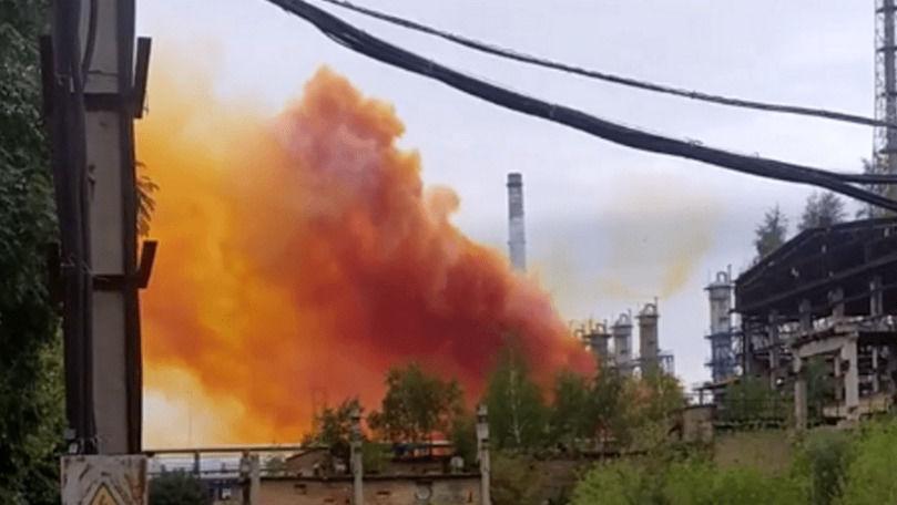 Explozie la o uzină chimică din Ucraina: Reacția Agenției de Mediu