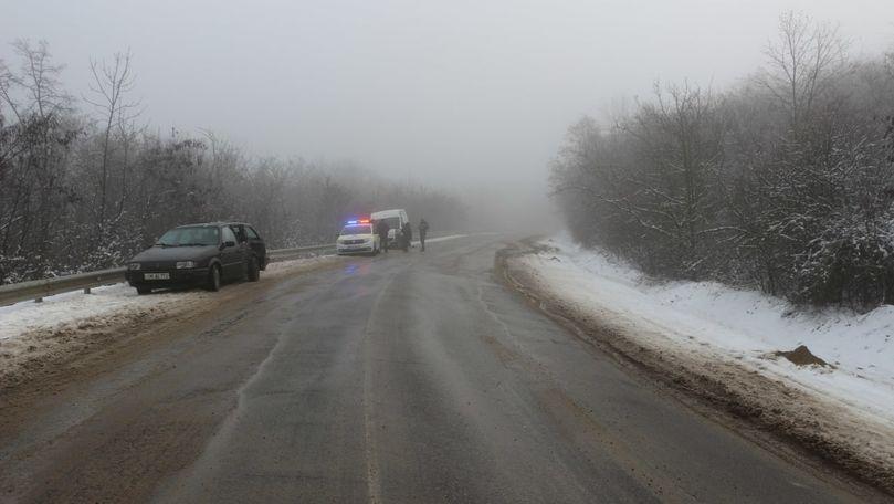 Accident produs de un șofer ieșit pe contrasens la Hâncești: Un rănit