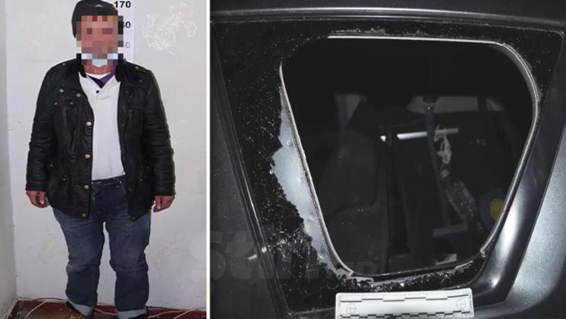 Un bărbat a spart o mașină parcată și a furat bunuri de peste 6.000 lei