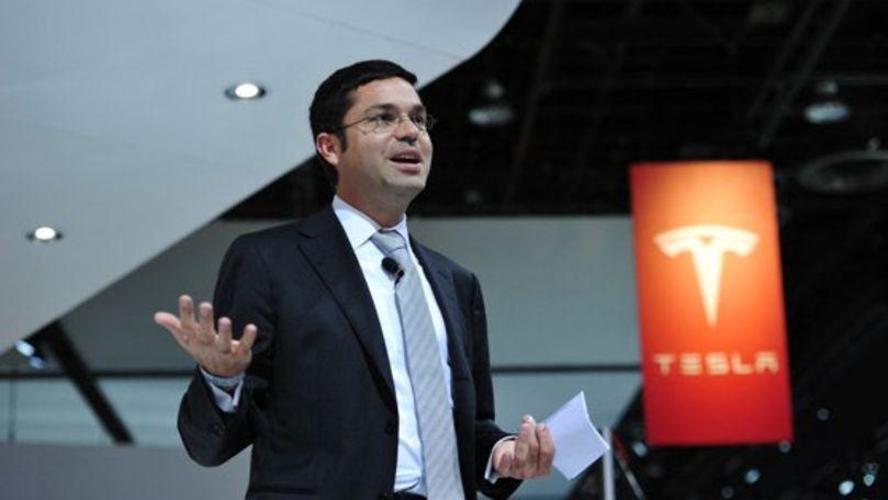 Tesla rămâne fără un executiv de top de la conducerea companiei