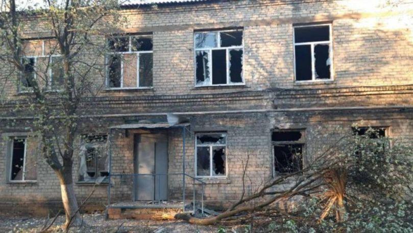 Alertă în Ucraina: Un spital COVID, grav avariat de explozia unui obuz