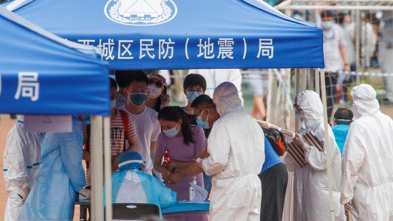 China raportează noi cazuri de coronavirus, majoritatea transmise intern