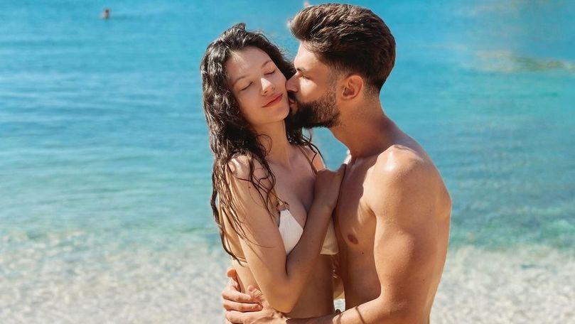 Cleopatra Stratan și Edward Sanda își petrec luna de miere în Sardinia