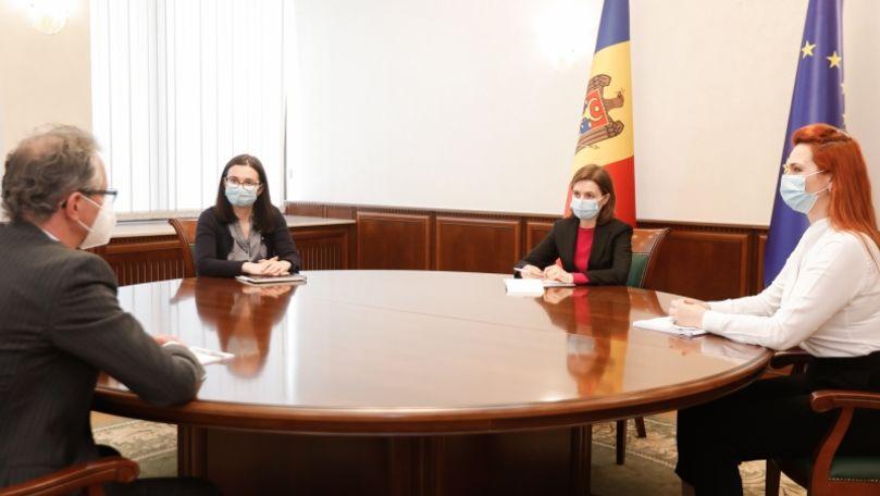 Maia Sandu, întrevedere cu șeful Misiunii OSCE: Subiectele abordate