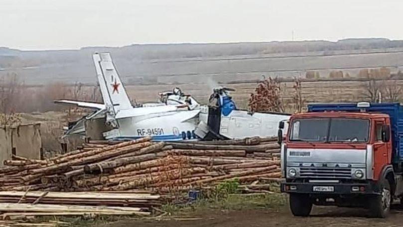 Momentul prăbuşirii avionului în Tatarstan, filmat: Sunt 16 morţi