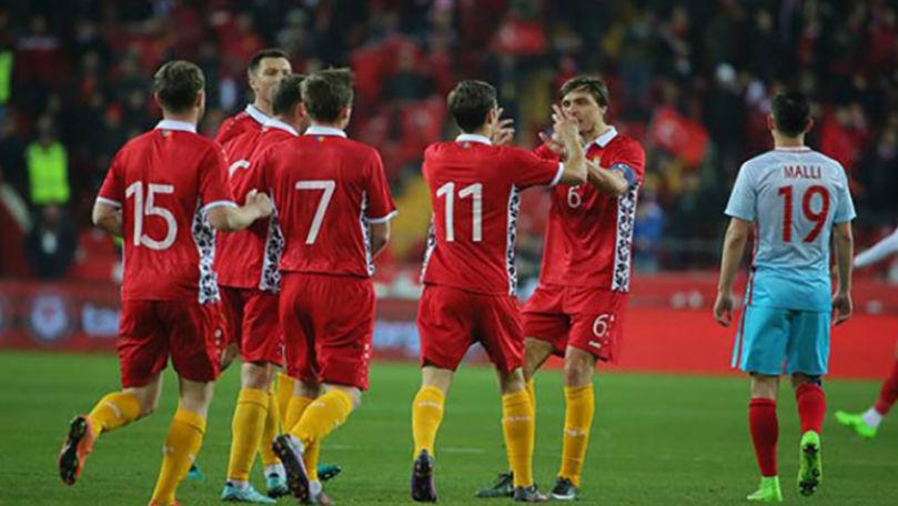 Data când naționala de fotbal a Moldovei va avea un amical cu Turcia