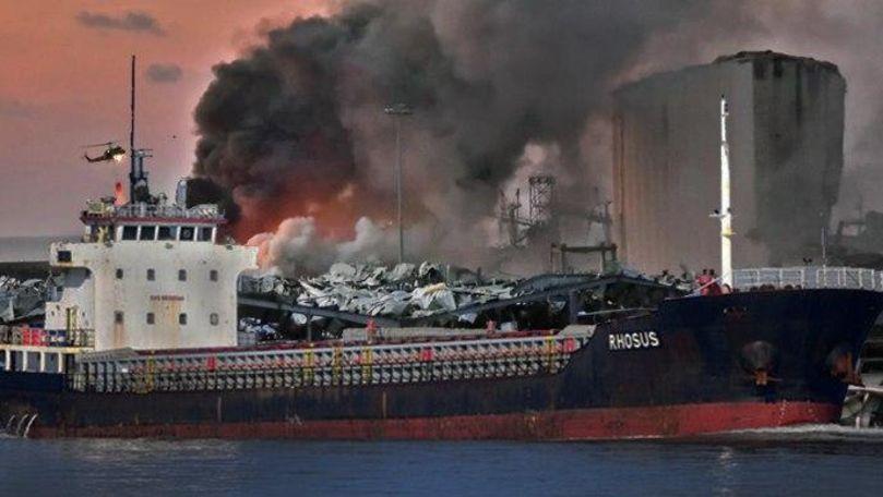 Explozia din Beirut: Legătura cu nava unui rus sub pavilionul Moldovei