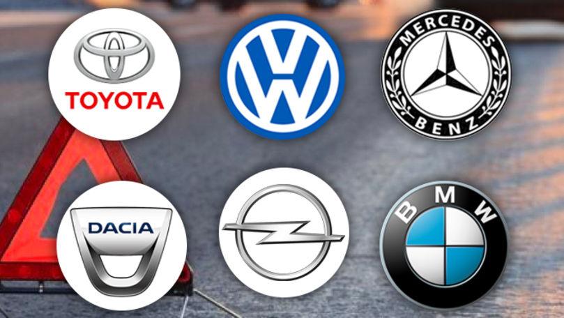 Topul mărcilor de mașini implicate în accidentele grave din R. Moldova