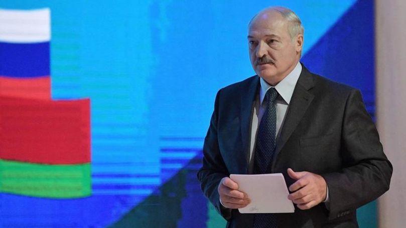 """Lukașenko a promis că nimeni nu va """"încorpora"""" sau """"împărți"""" republica Belarus"""