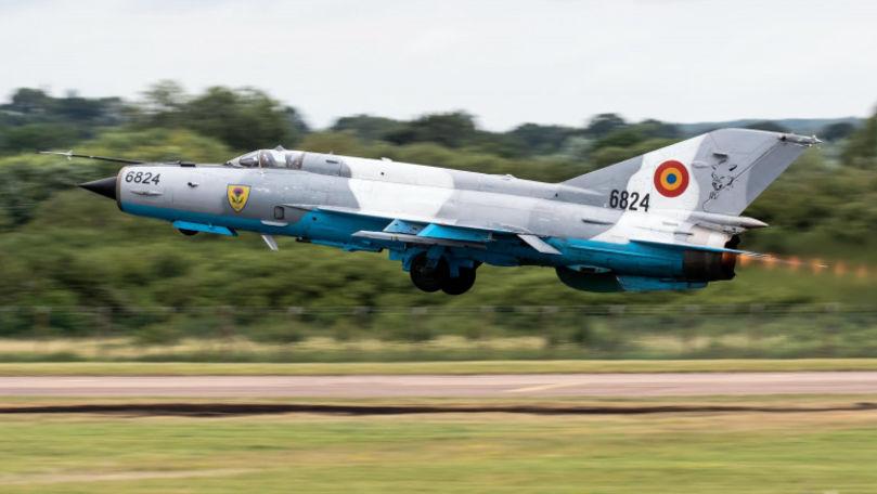 Un avion MiG 21 LanceR s-a prăbușit în România: Pilotul a supraviețuit