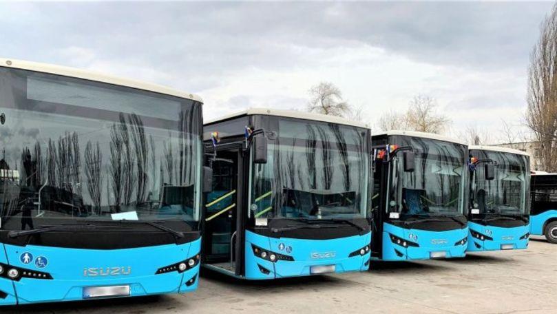 Ceban: Alte 11 autobuze utilizate vor ajunge în curând la Chișinău