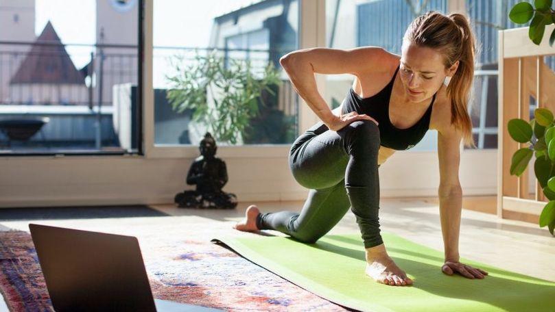 Studiu: Lipsa exercițiilor fizice crește riscul de deces din cauza COVID