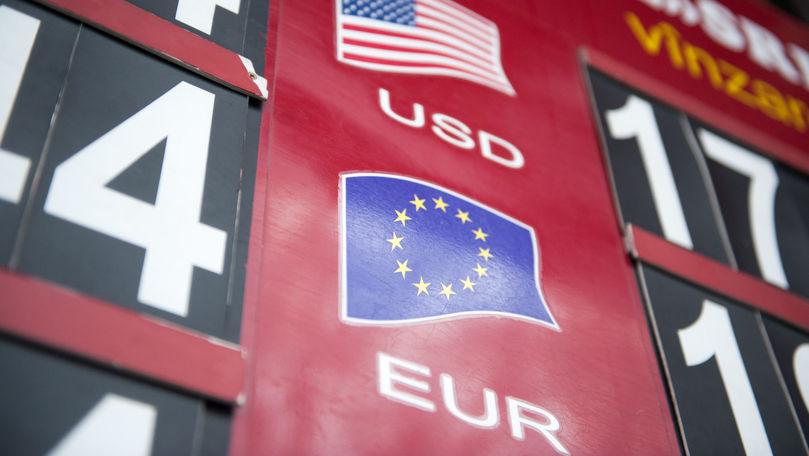 Curs valutar 4 mai 2021: Cât valorează un euro și un dolar