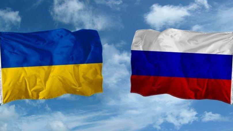 Ucraina susține că nu acceptă șantajul și acțiunile agresive ale Rusiei