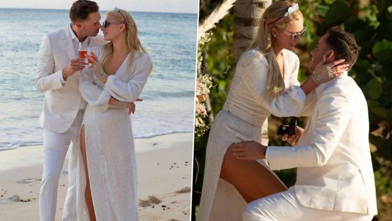 Paris Hilton așteaptă primul copil cu logodnicul Carter Reum