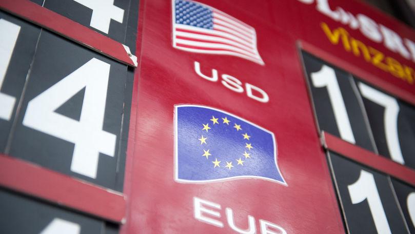 Curs valutar 14 octombrie 2021: Cât valorează un euro și un dolar