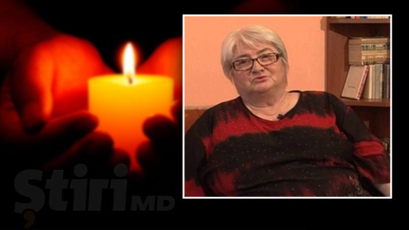 S-a stins din viaţă Lidia Bobână: Jurnalista suferea de o boală incurabilă