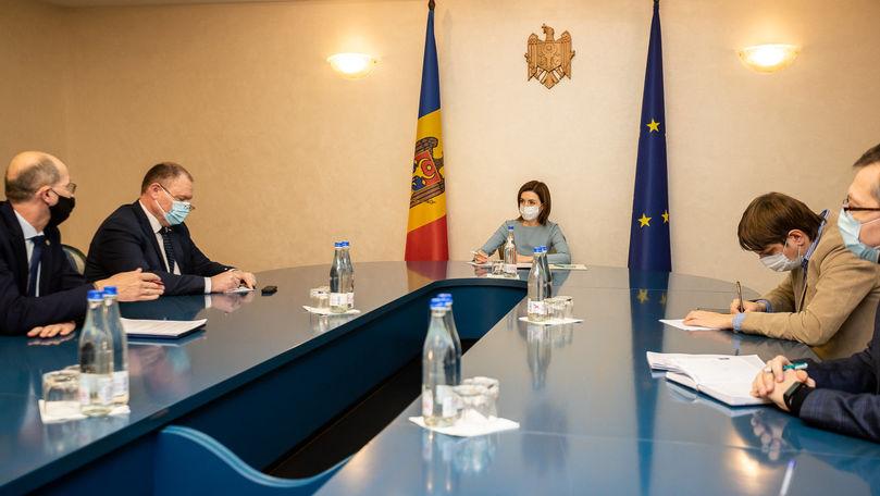 Maia Sandu a cerut repartizarea echitabilă a motorinei donate de România