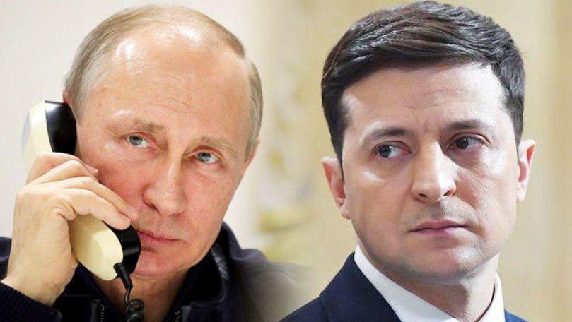 Peskov anunță cât a durat convorbirea telefonică Putin-Zelenski